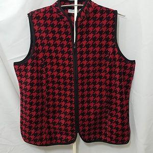Susan Graver Fleece Vest
